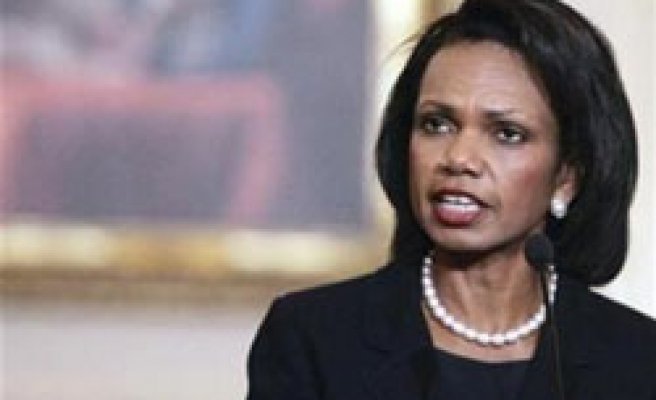 US 'firmly behind' diplomatic effort on Iran: Rice