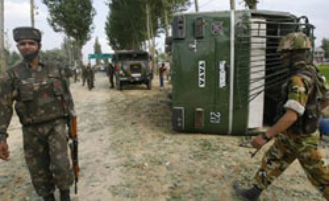 At least nine Indian soldiers killed in Kashmir explosion