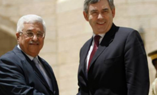 Brown: EU wants to see a freeze on Israel settlements