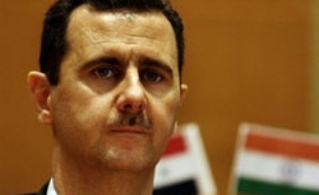 Syria's Assad due to Russia for military coop