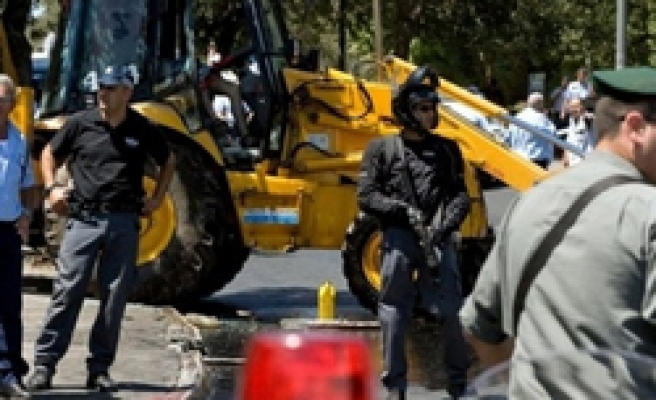 Palestinian killed in second bulldozer incident