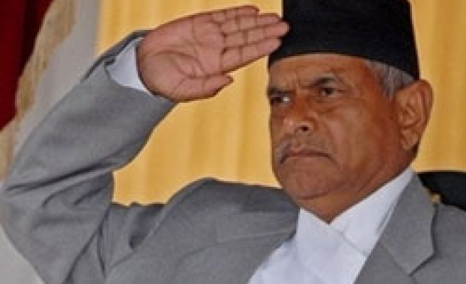 Nepal's first president sworn in, no sign of govt