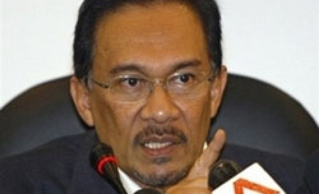 Malaysia's Anwar starts by-election drive