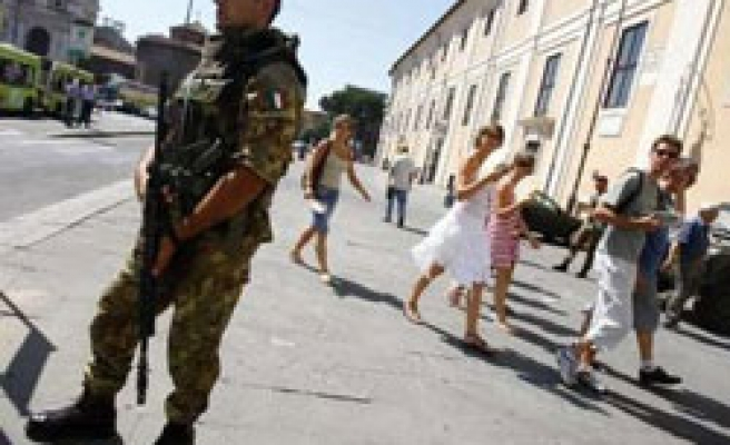 Italy deploys troops in cities to fight crime