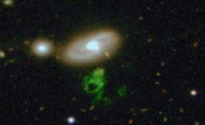 Amateur astronomer spies gassy 'cosmic ghost'
