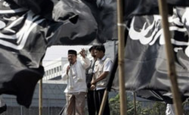 Indonesia Muslims protest over U.S. intervention in Papua