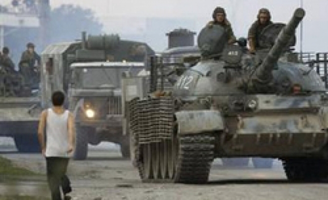 Russia boosts forces in Abkhazia to 9,000-Ifax