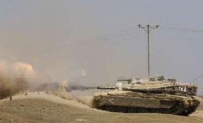 Israel stages war games on occupied Golan