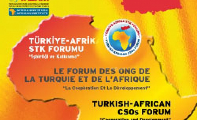 Turkish, African Civil Orgs to meet in Istanbul