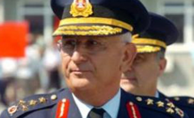 Turkish Air  Forces commander in Hungarian capital