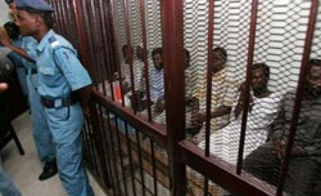 Sudan court sentences eight Darfur rebels to death PHOTO