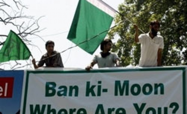 Muslims call off Kashmir protests for three days