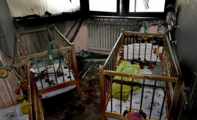 Deadly fire in Bosnia orphanage