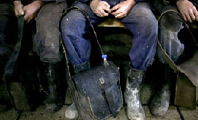 Bulgarian miners stage underground protest over unpaid salaries