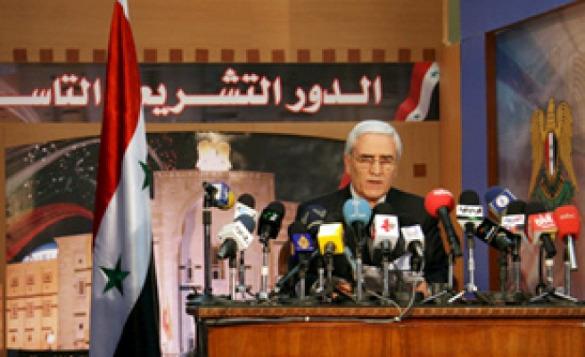 Ruling coalition wins Syria polls