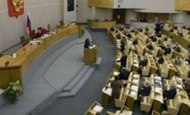 Russian parliament passes restrictions on NGOs