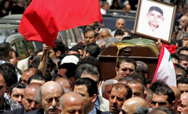 Lebanese killed in attack buried