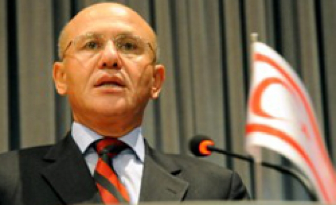 Cyprus' Talat arrives in Turkey to receive honor medal