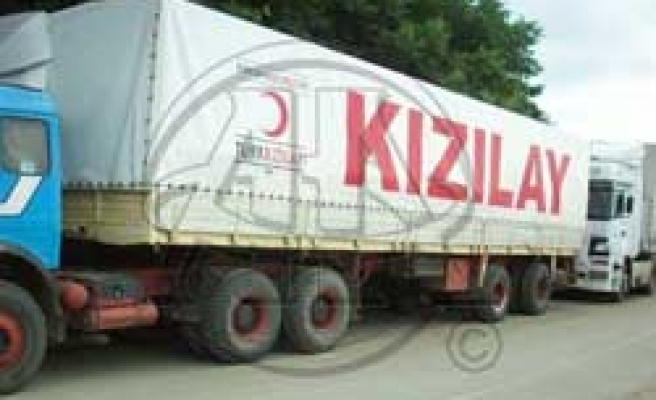 Turkey sends 11,000 packages of foodstuff to Gaza
