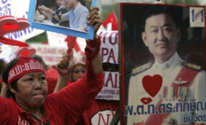 Thai protesters rally ahead of PM's maiden policy speech