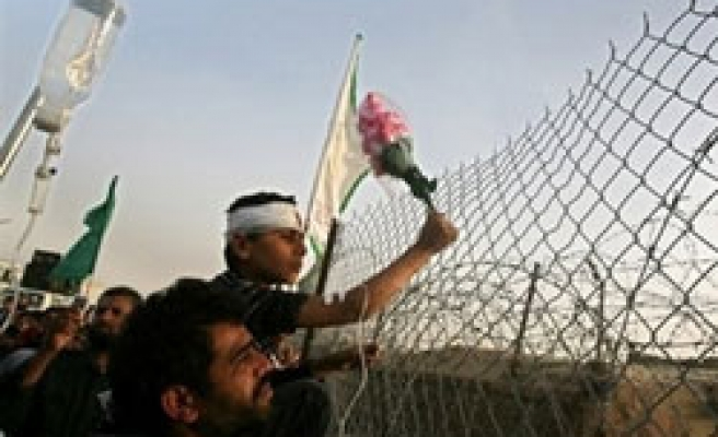 Egypt police prevent Palestinians to cross border