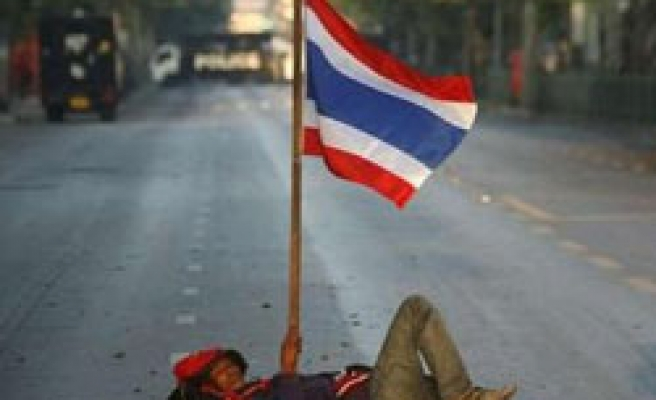 Protests delay Thai PM's policy speech, official says