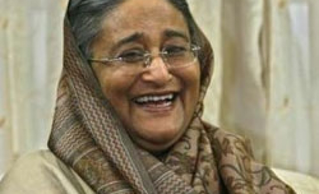 Bangladesh's Hasina alliance tops unofficial poll results