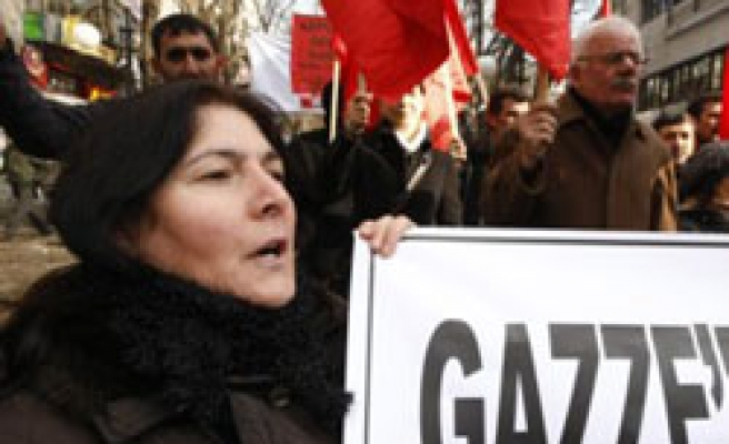 Protests against Israeli violence widen in Turkey