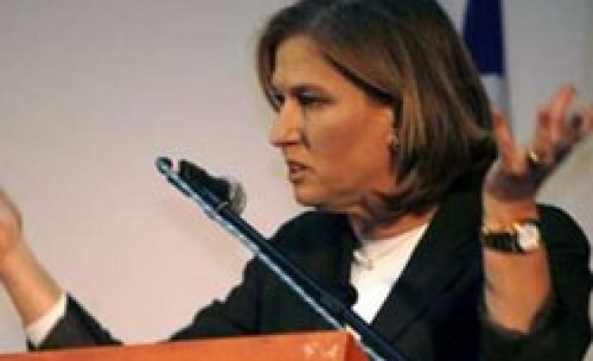 'No need ceasefire right now', Livni to tell Sarkozy before Mideast tour