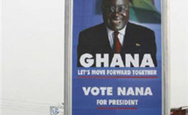 Ghana president hands over power to opposition leader