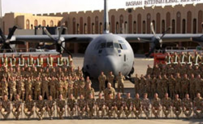Iraqis take over Basra aiport control from UK forces