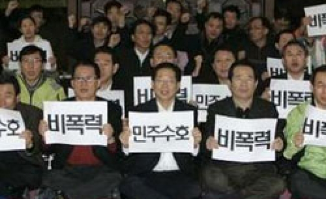 South Korean opposition MPs ready to discuss reforms