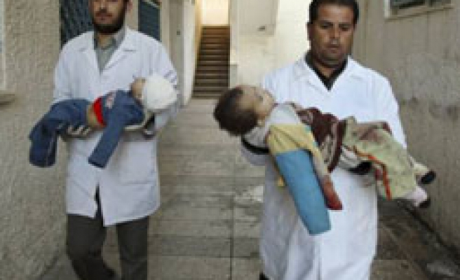 Turkish city doctors say to send aid Gazans