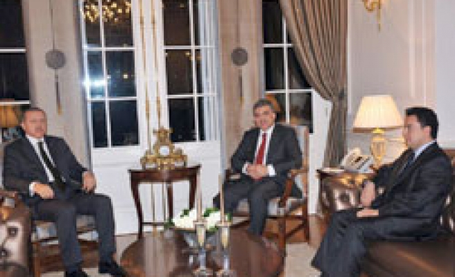 Turkish leaders meet over Gaza at Presidential Palace