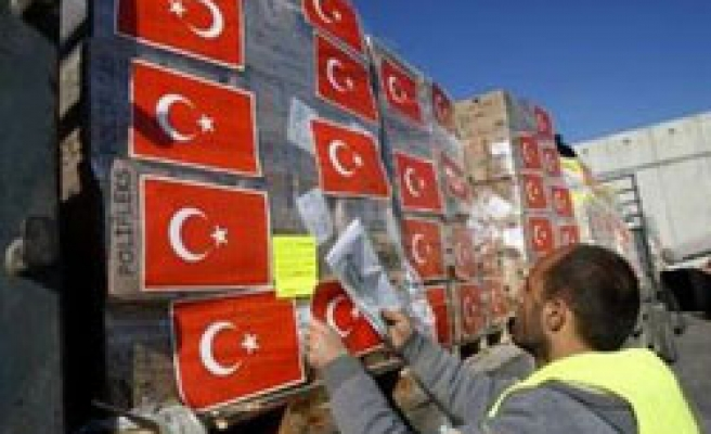 Turkish Red Crescent sends another aid convoy to Gaza