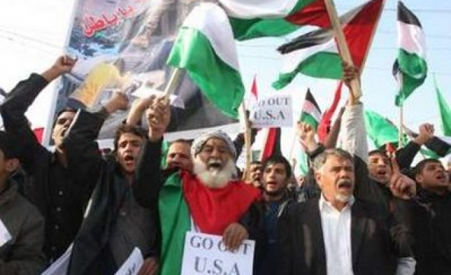 Thousands of Iraqis protest Israeli offensive in Palestine