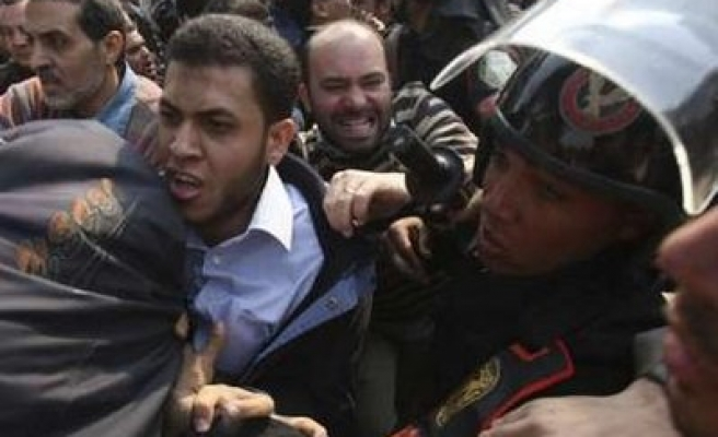 Egypt detains 64 Muslim Brotherhoods before and during Gaza protest