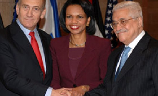US Benchmarks for Israel, Palestinians