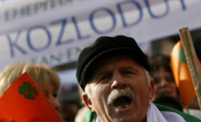 Bulgarians rally for restart of nuclear reactors
