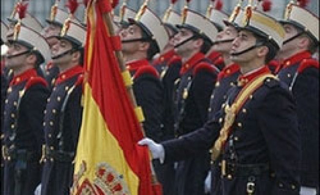 Spanish air force fighters collide, three dead