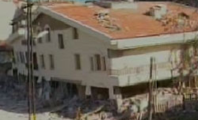 Building collapses in Turkish capital, some injured