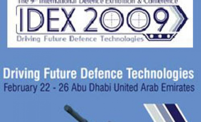 Turkish defense industry firms to attend IDEX-2009 in Abu Dhabi