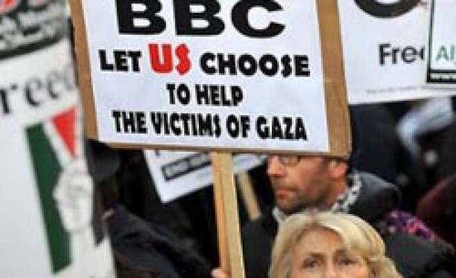 BBC, Sky keep on embargo on Gaza aid appeal