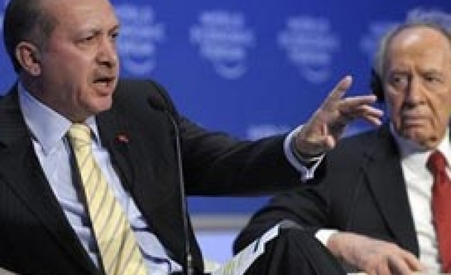 Israel president 'apologizes' Turkish PM over Davos debate