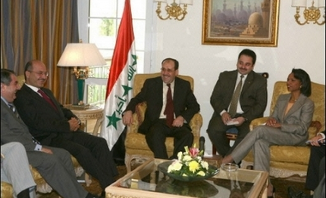 Rice meets with Syrian counterpart