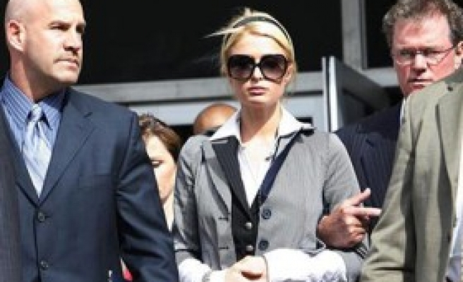 Paris Hilton sentenced to 45 days in jail