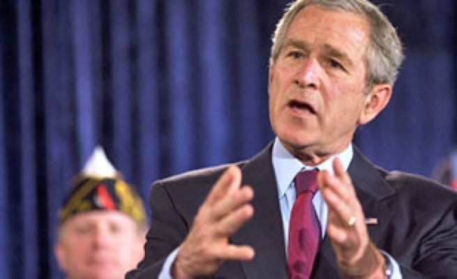 Bush's popularity all-time low