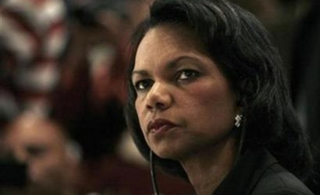 Rice to visit Russia,skips Israel