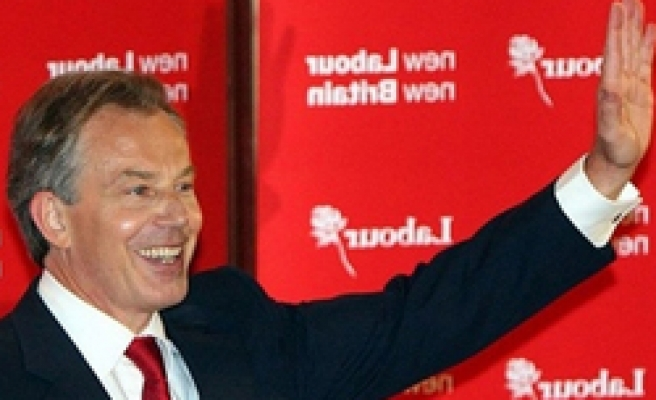 Blair leaves party leadership, will resign as PM on June 27