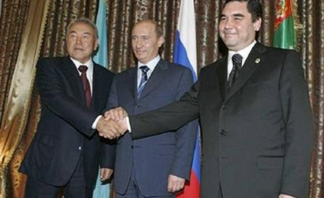 Russia, Central Asia in crucial gas deal